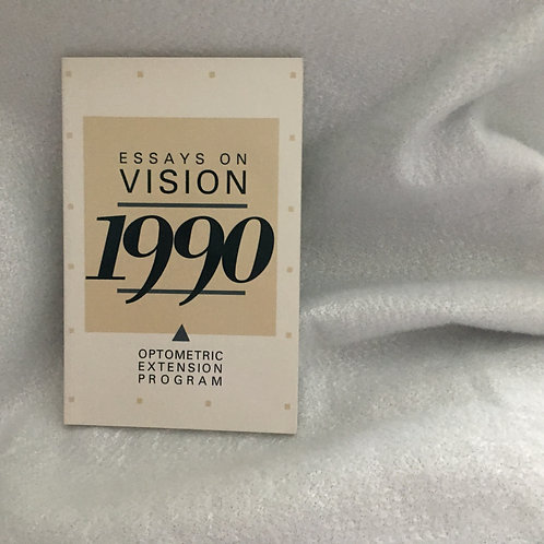 Essays on Vision 1990  Forkiotis,Kadet, Shankman, Valenti