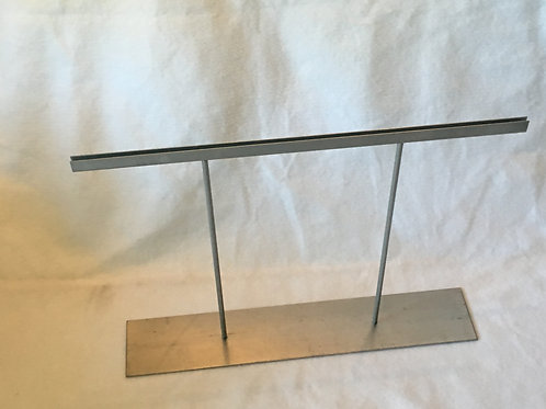 Space fixator base, available with plexiglas screen