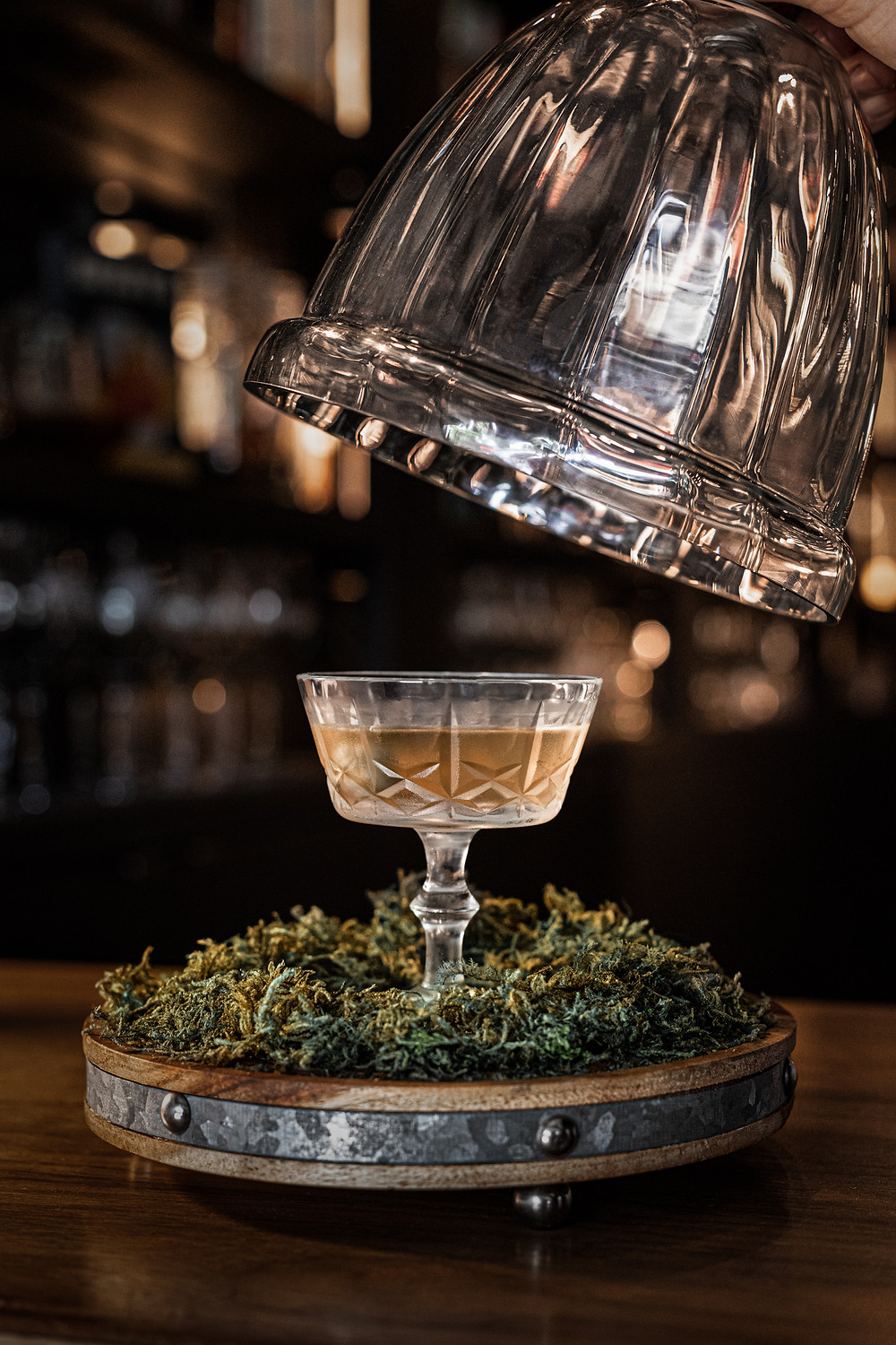 A gin martini, created by Michelle Kanis, from Bar Corso in Vancouver