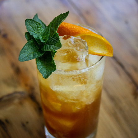A cocktail creation by Dan Boulianne