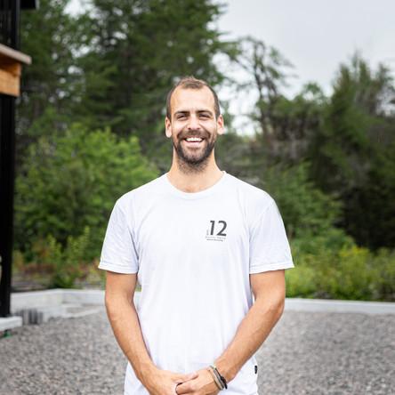 Jean-Philippe Bouchard, co-owner of Distillerie du Fjord