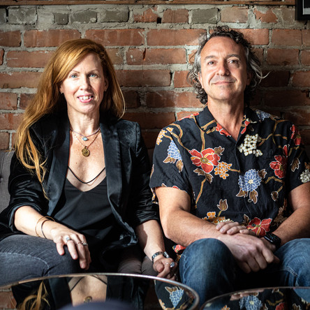 Cher Diller and Jason Strohan, bar & restaurant owners.