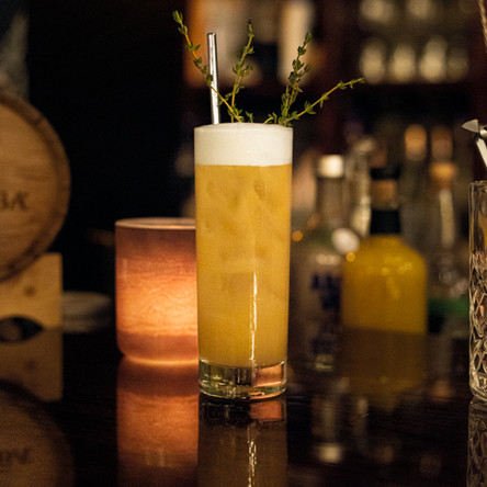 Taxation without representation, a cocktail creation by Dan Draper