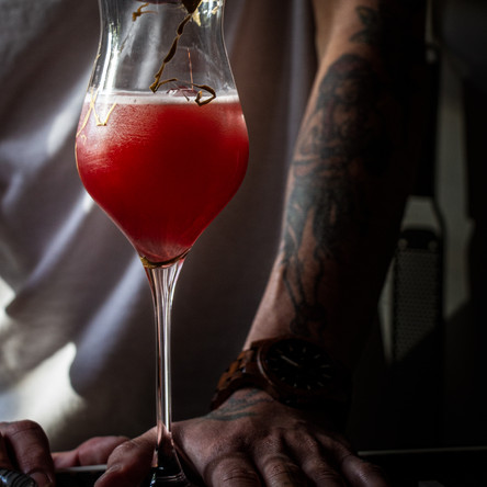 A cocktail creation by Justin Daigle