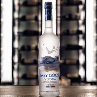 Grey Goose vodka bottle