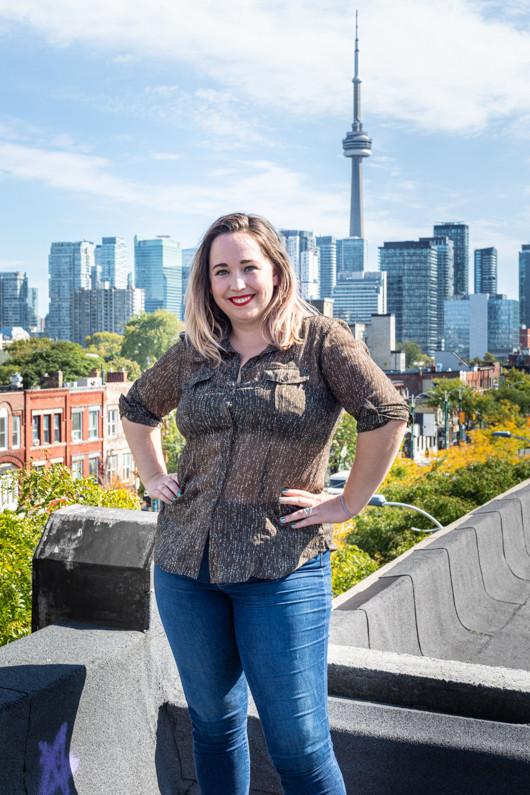 Portrait of Claire Freel