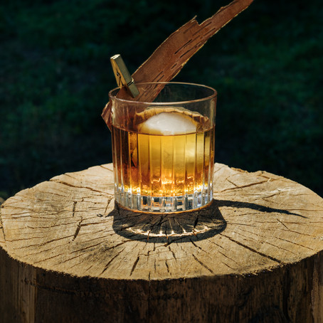 Harvest Old Fashioned by Daphnee Dee