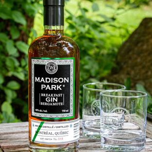 Bottle of Madison Park breakfast gin