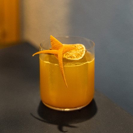 Tropical Rum Punch, a cocktail recipe by Audrey Hands