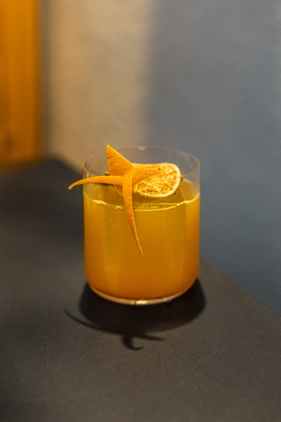A picture of the Tropical Rum Punch, a cocktail recipe by Audrey Hands