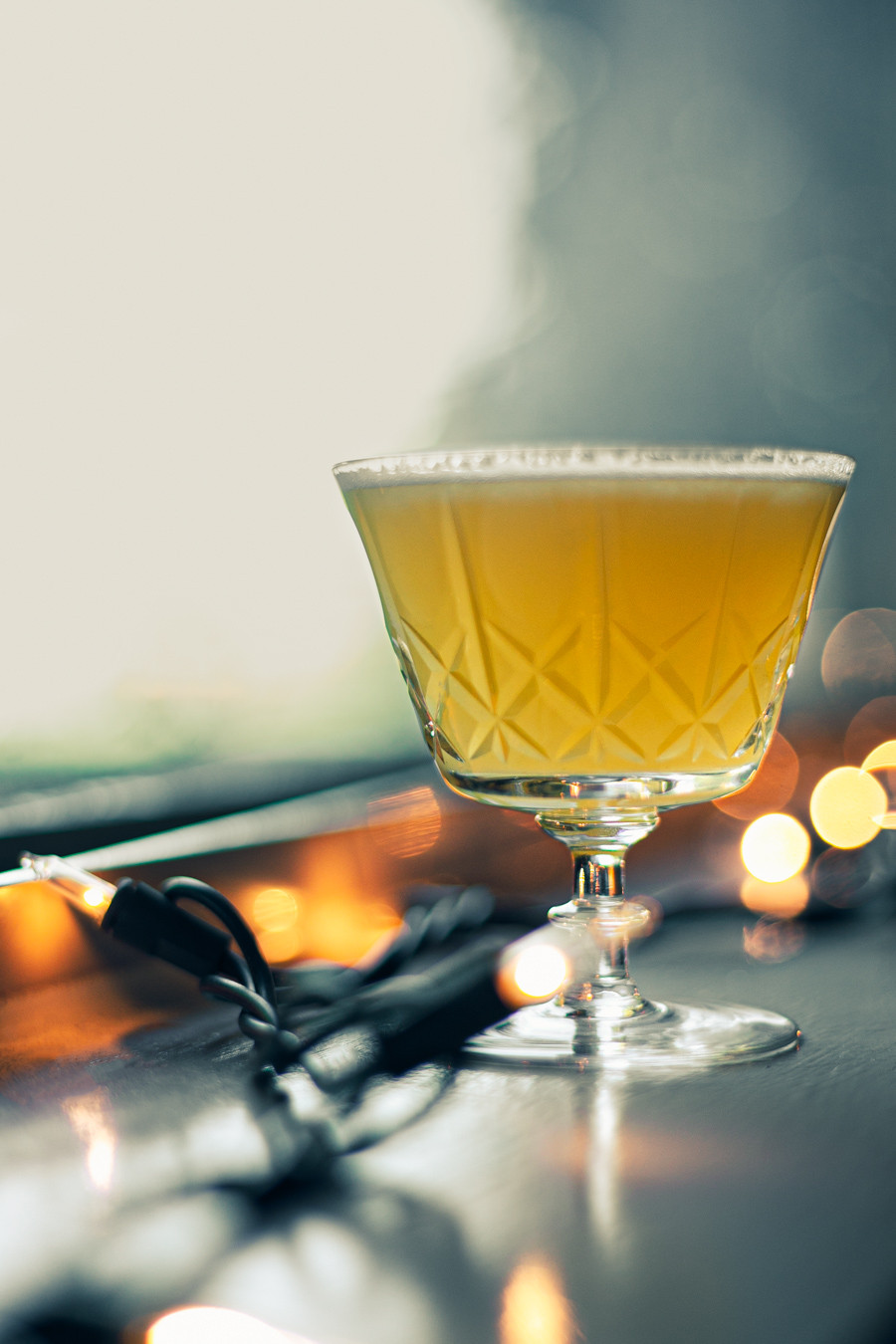A cocktail by Evelyn Chick, inspired by a London Calling