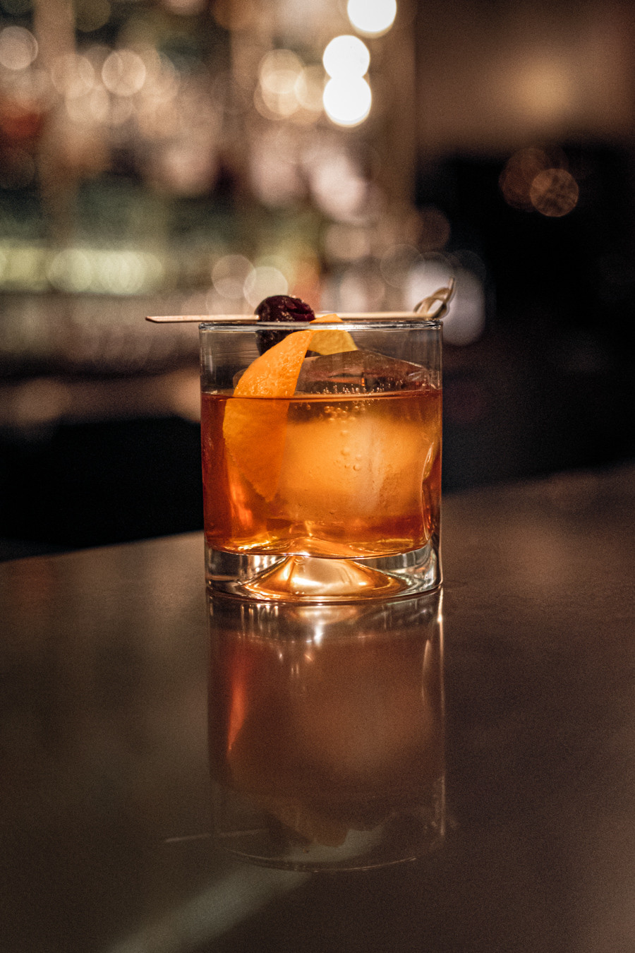 A picture of an old fashioned, made by Danielle Pingert in Saskatoon