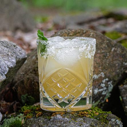 A cocktail creation by Julie Belanger Cateysson