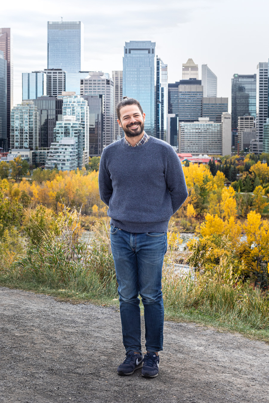 A portrait of Juan Bolivar, from Calgary, Activation Manager for Diageo Reserve