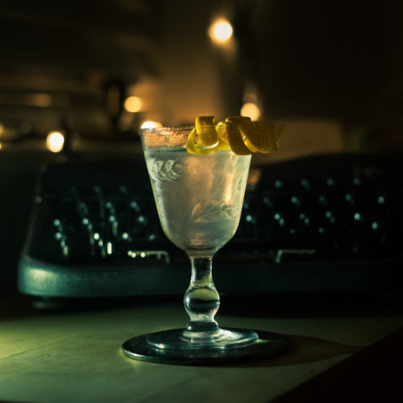 French Heritage Martini by Daphnee Dee