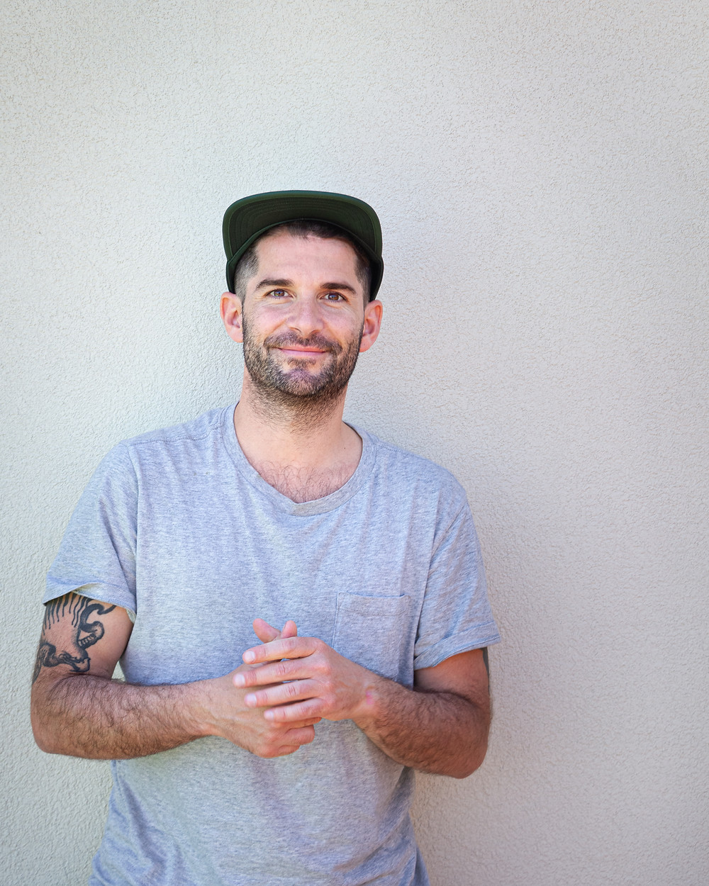 A portrait of Max Coubès, illustrator and bartender in Montreal
