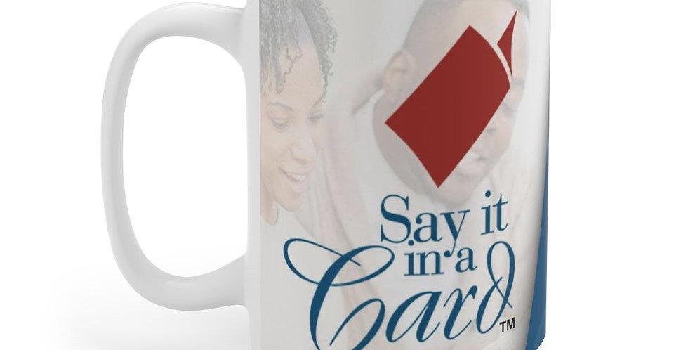 Say It In a Card Mug (Version 1)