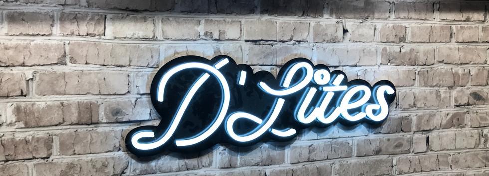 D'Lites Neon Sign