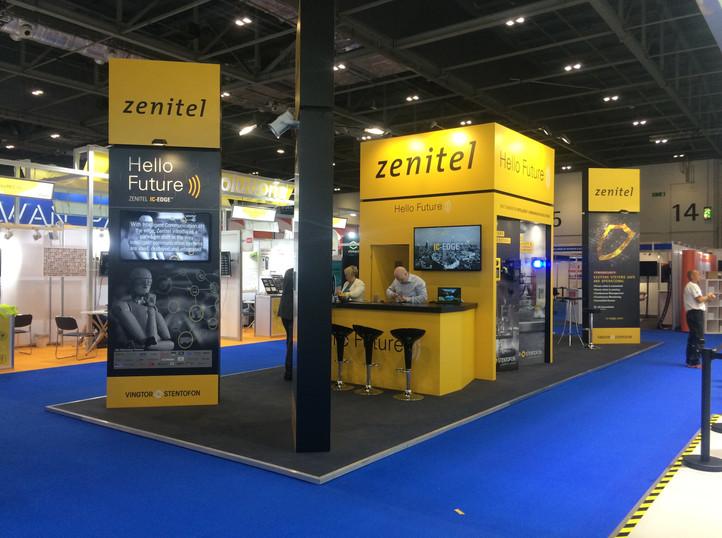 Yellow Zenitel Stand