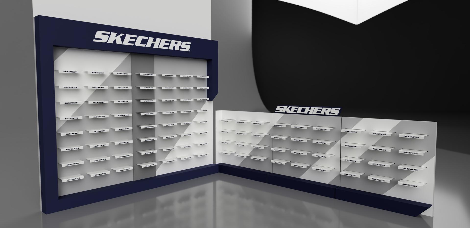 Skechers Shop Display