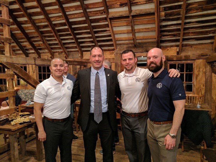 Brad Carruthers, President Fairfax FOP Lodge 77 and the Co-Founders of The Hercules Foundation