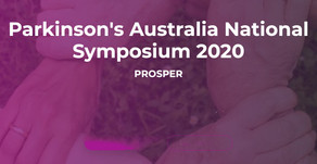 PARKINSON'S AUSTRALIA NATIONAL SYMPOSIUM 2020
