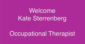 Welcome Kate Sterrenberg, OT