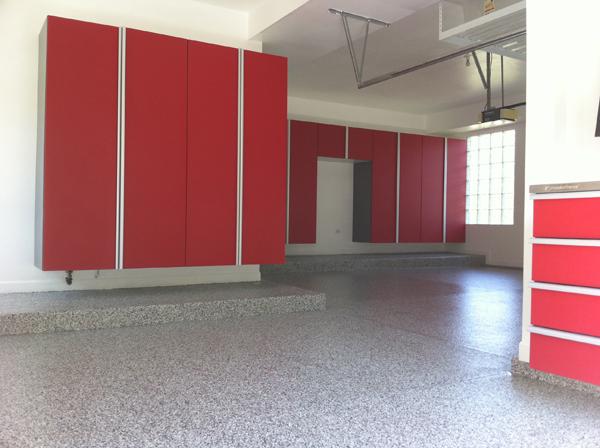 Red Garage Cabinets 6