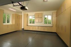 Hard Rock Maple Garage Cabinets 9