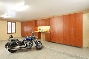 Custom Garage Cabinets and Custom Garage Storage Cabinets in AKron, Cleveland, Columbus, Canton.