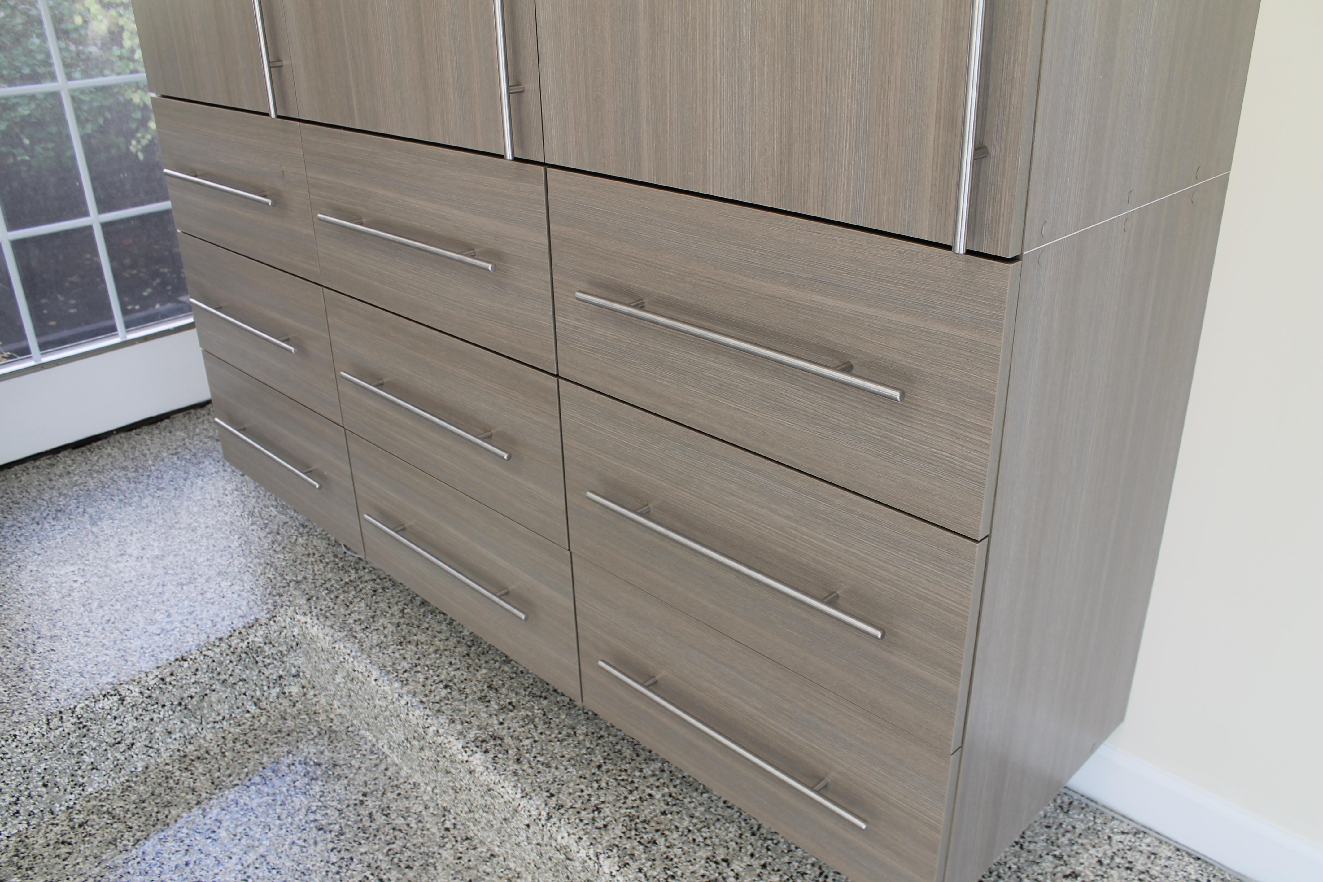 Driftwood Garage Cabinets 15