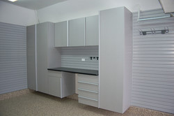 Silver Frost Garage Cabinets 1