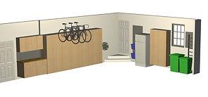 Garage Storage Layout for your custom garage