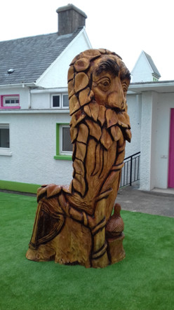 Story-telling throne - Tralee, Co Kerry