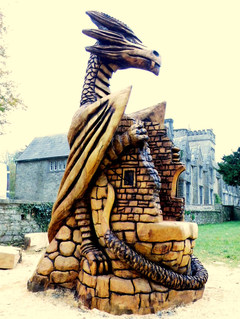 Dragon Throne, Mallow Castle, Co Cork