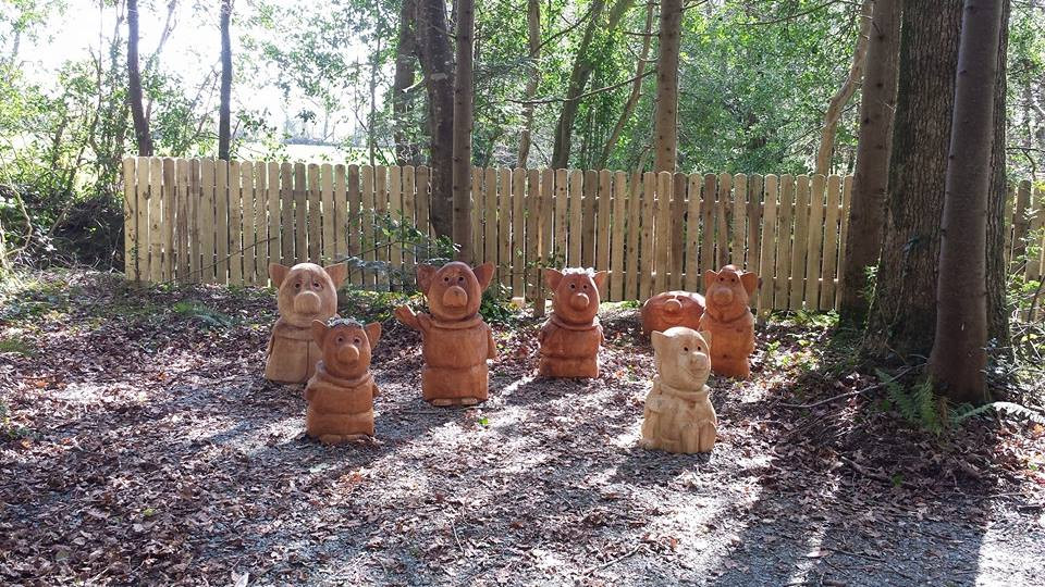 Wells House Family of Trolls