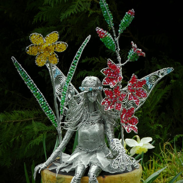 Fairy in a Flower Pot
