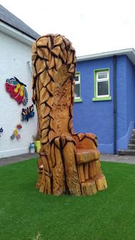 Story-Telling Throne, Balloonagh School, Tralee
