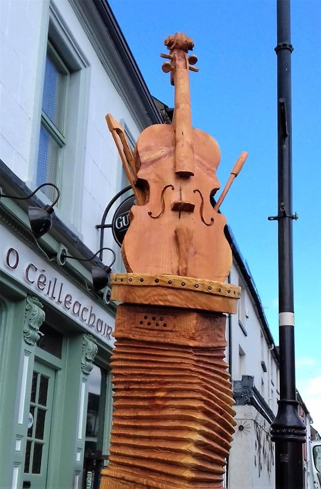 Kilfinane Musical Totem
