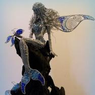 Merfairy with Blue Fish