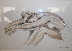 Mike's Art Studio, Mike Clifford, nude, pencil drawing, commissions