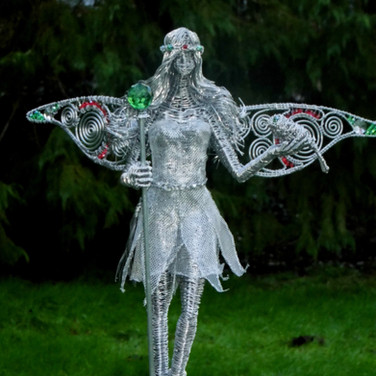Fairy with Green Sceptre