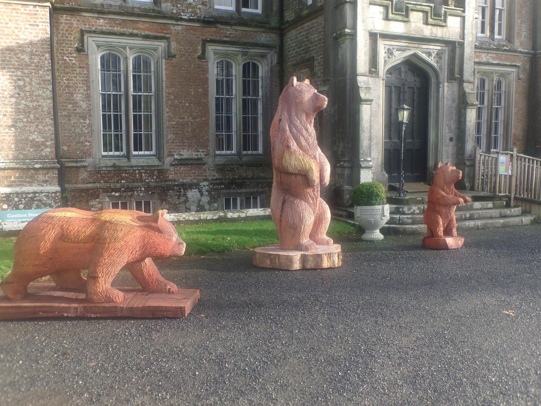 Wells House Family of Bears