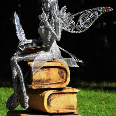Writer Fairy with Mandolin
