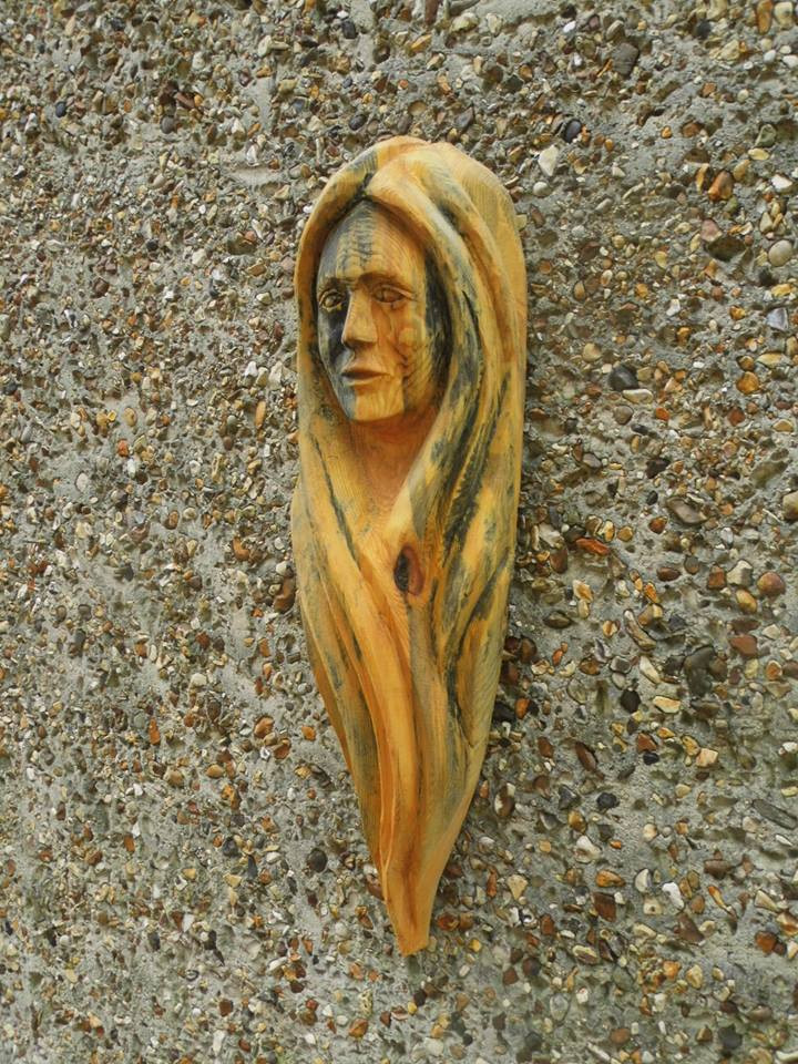 Woman's Head Wall Hanging