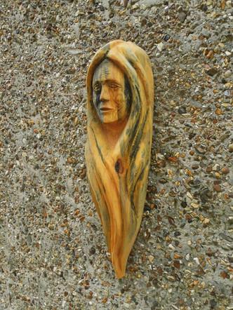 Woman's Head Wall Hanging
