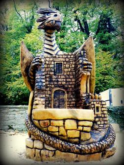 Dragon Throne, Mallow Castle, Co Cork