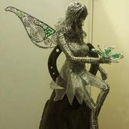 Fairy on Horseshoe