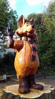 Florrie the Fox - Trabolgan Mascot