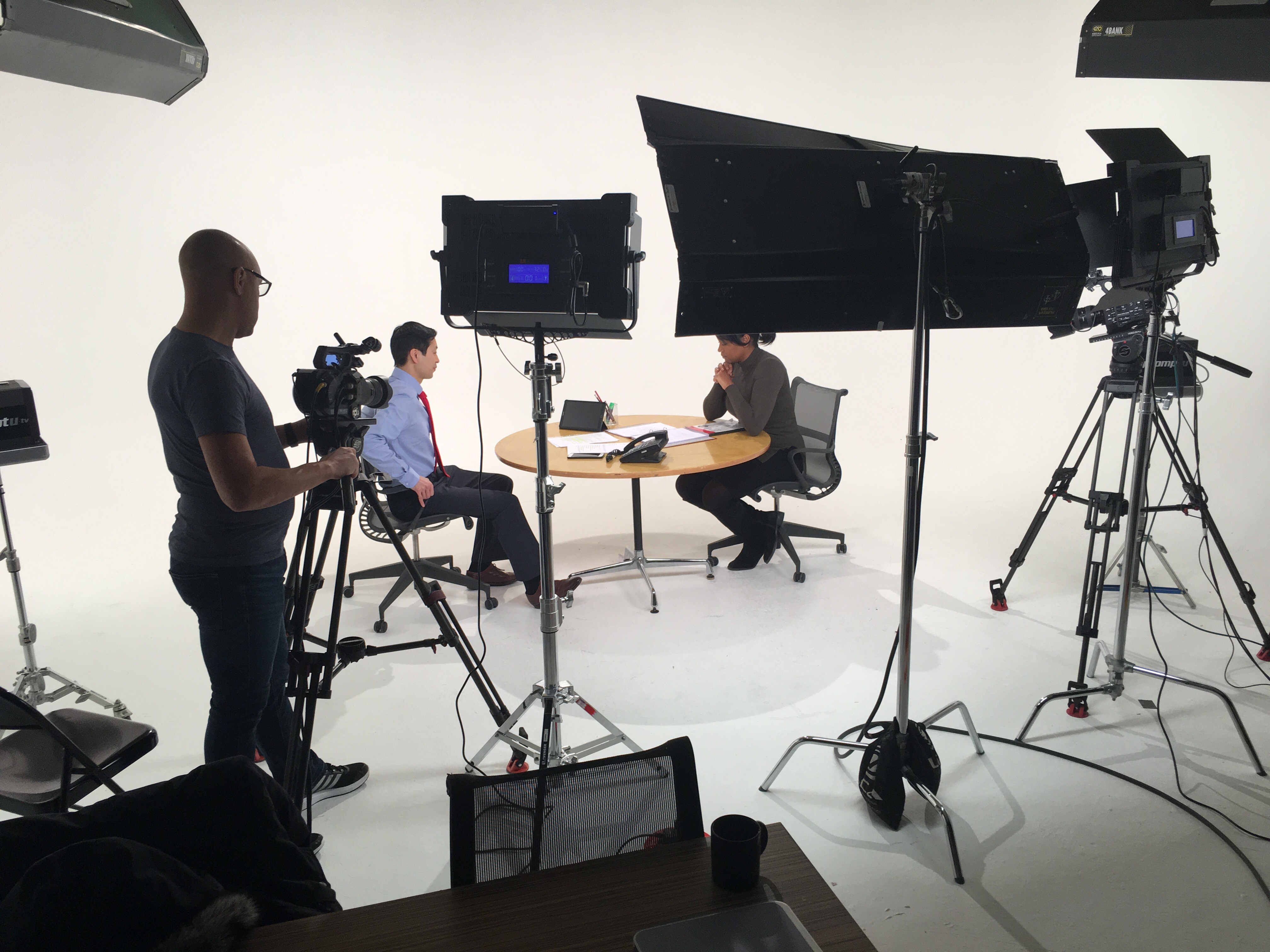 Filming with full 4k kit